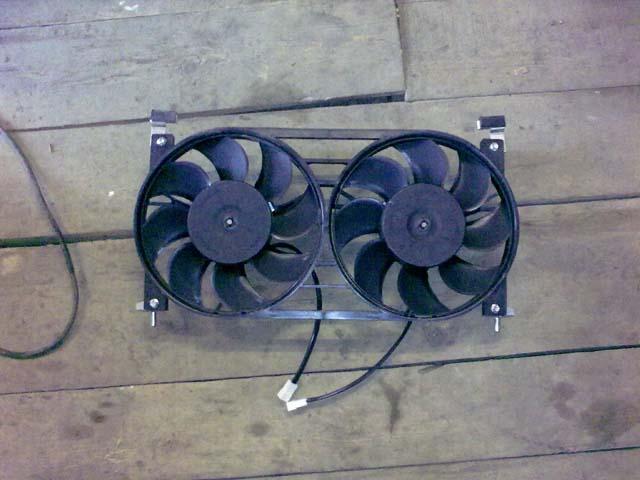 Как сделать два вентилятора на уаз